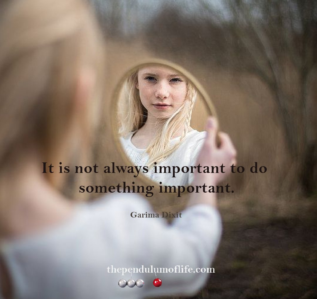 Self importance quotes